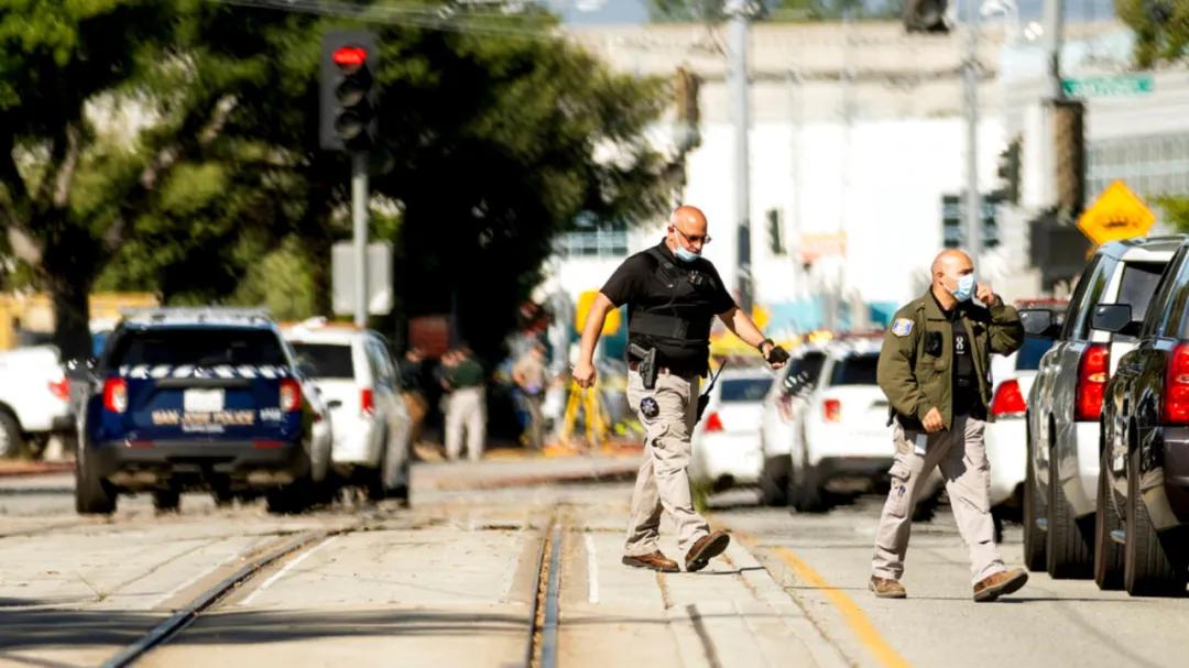 9人死亡!加州圣何西铁路调车场发生枪击惨案