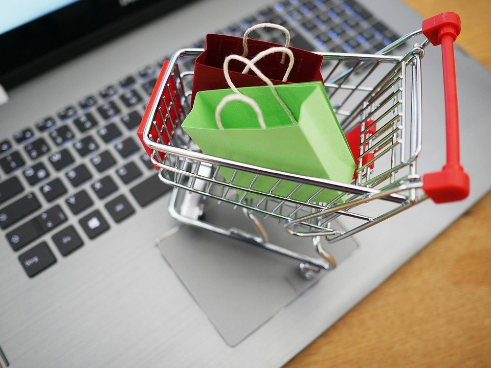 Shopping Venture, Shopping, Laptop, Supermarket